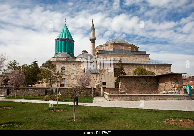 Mevlana Museum Konya Turkey Stock Photos & Mevlana Museum ...