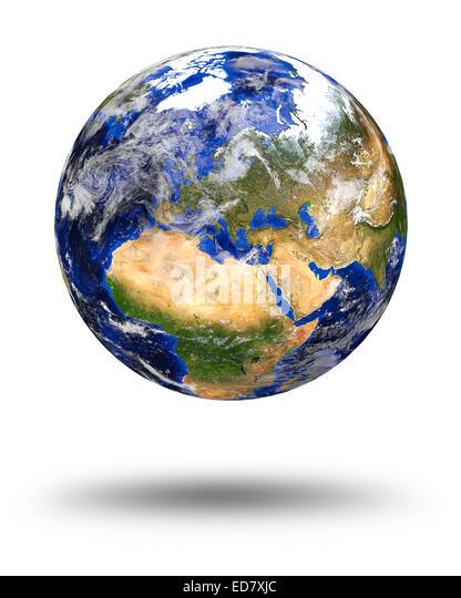 Satellite Map Europe Stock Photos Amp Satellite Map Europe