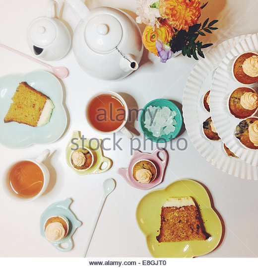 France, Paris, Tea Time - Stock Image