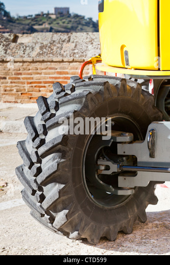 Big tire stock photos big tire stock images alamy for Big tractor tires for free