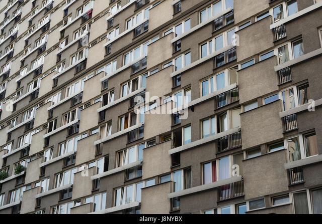 Block of flats - Stock-Bilder