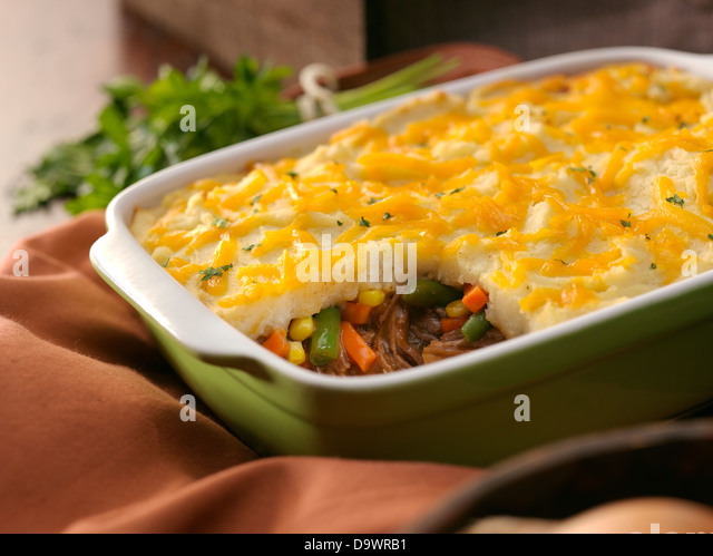 shepards pie - Stock Image