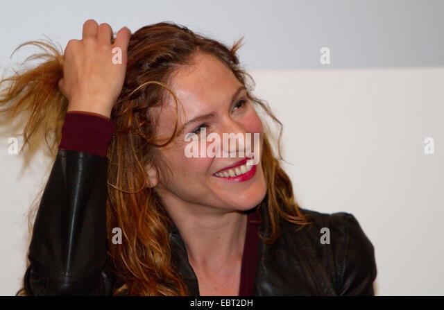 Italian actress Isabella Ragonese presents her movie 'La sedia della felicità'. - Stock Image