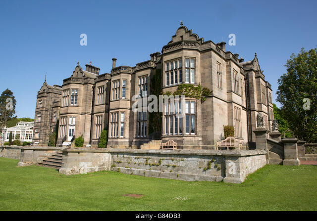 Victorian Gothic Architecture House Stock Photos