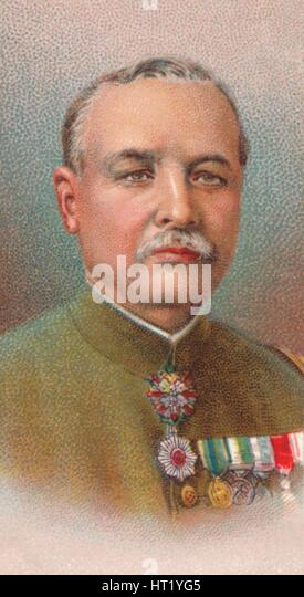 Kamio Mitsuomi, 1st Baron (1856-1927), general in the Imperial Japanese Army, 1917. Artist: Unknown - Stock Image