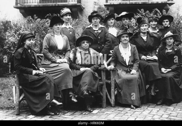 19th Century Suffragettes - Stock Image
