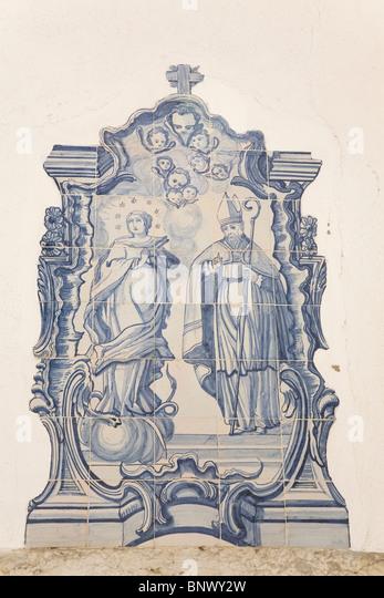 Lisbon tiles stock photos lisbon tiles stock images alamy - Azulejos roman ...