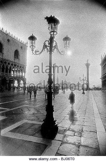 Piazzetta San Marco, Venice, Italy - Stock Image