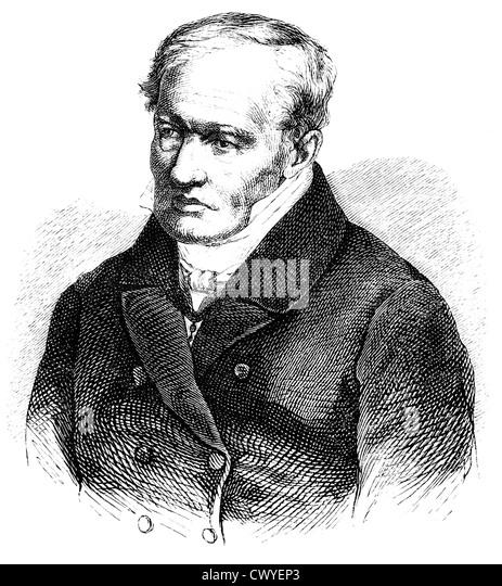 Alexander von humboldt drawing stock photos alexander for Alexander heinrich