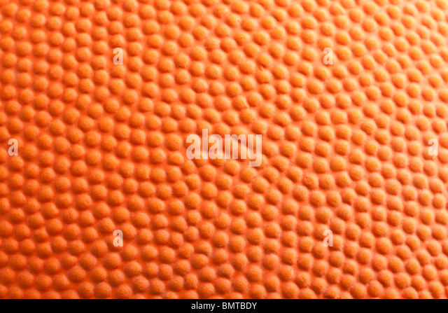 Orange Basketball close up shot - Stock-Bilder