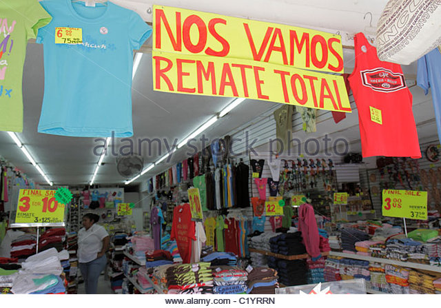 Mexican clothing stores