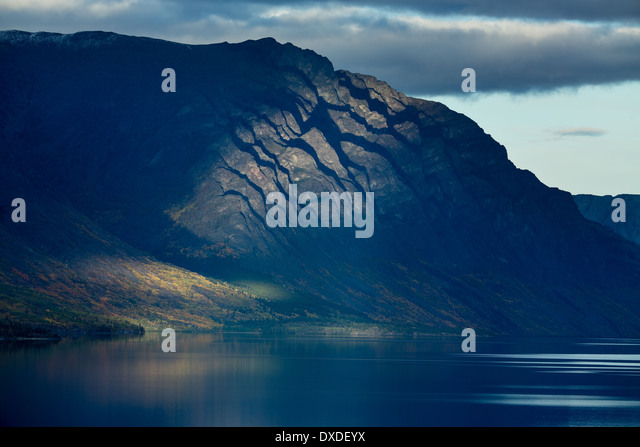 Lake Tagish, Carcross, British Columbia, Canada - Stock Image