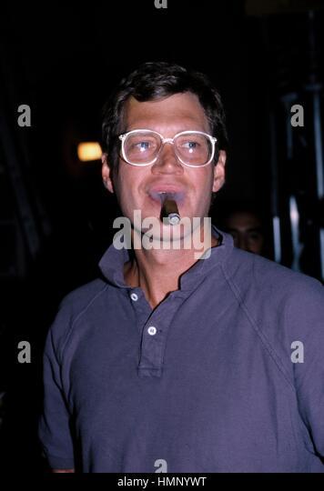DAVID LETTERMAN 1986 EMMY AWARDS LOS ANGELES, CA. CREDIT ALL USES - Stock-Bilder