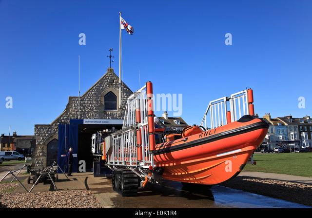 9466. RNLI Life Boat, Walmer, Kent - Stock Image