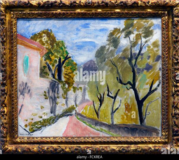 Henri matisse landscape stock photos henri matisse for Matisse fenetre ouverte collioure