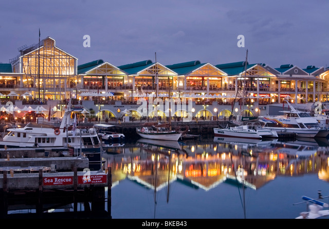 Victoria Albert waterfront, south africa cape town, - Stock Image