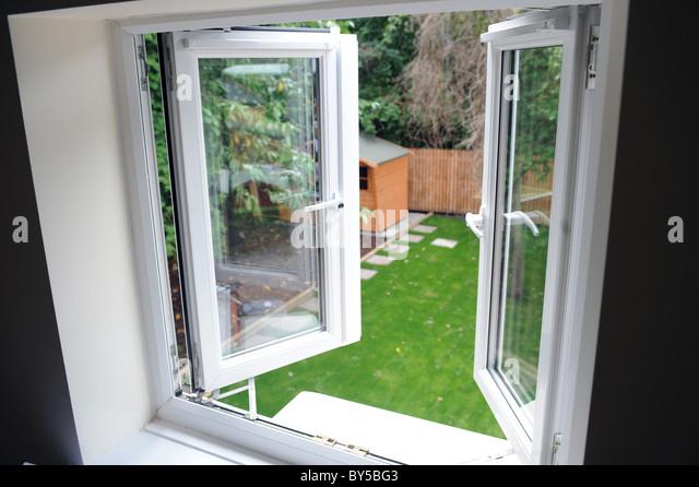 Upvc windows stock photos upvc windows stock images alamy for Pvc double glazing