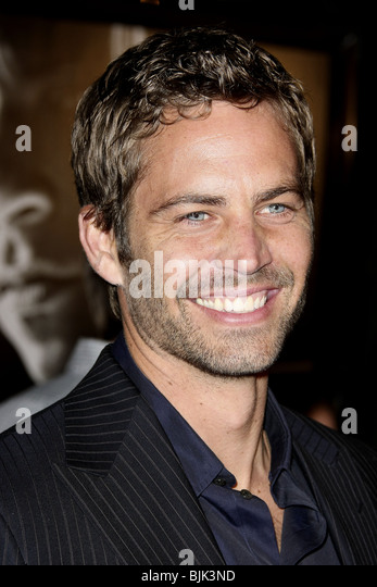 PAUL WALKER FAST & FURIOUS WORLD PREMIERE BURBANK LOS ANGELES CA USA 12 March 2009 - Stock Image