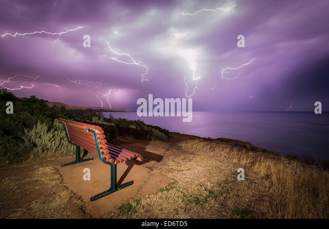Lightning Lookout - Stock-Bilder