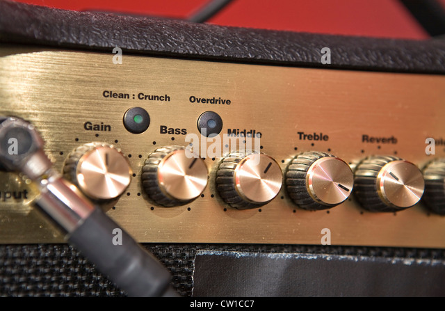 Guitar Amplifier - Stock-Bilder