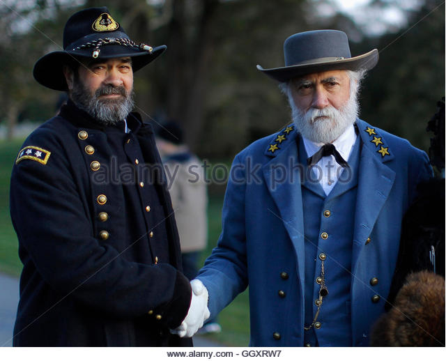 A comparison between two famous generals of the american civil war robert e lee of the confederate a