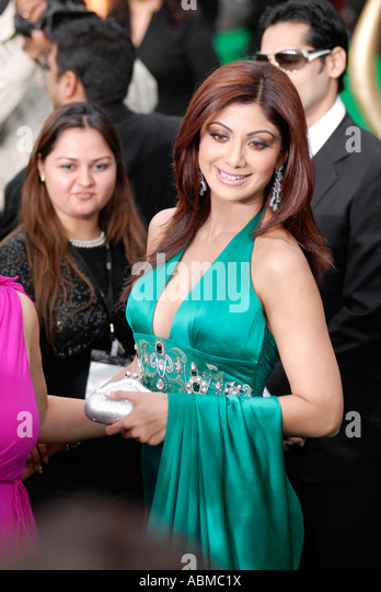 Shilpa Shetty at the 2007 Bollywood Awards in Sheffield UK - Stock-Bilder
