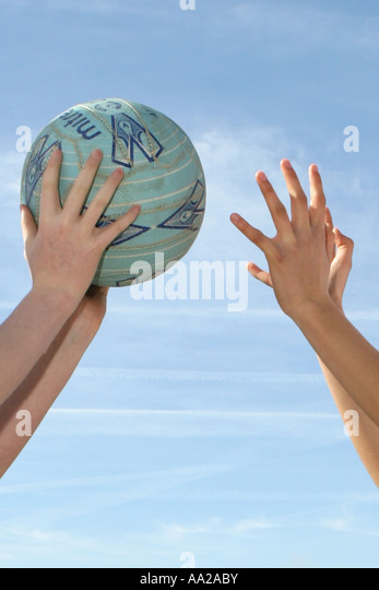 Netball - Stock Image