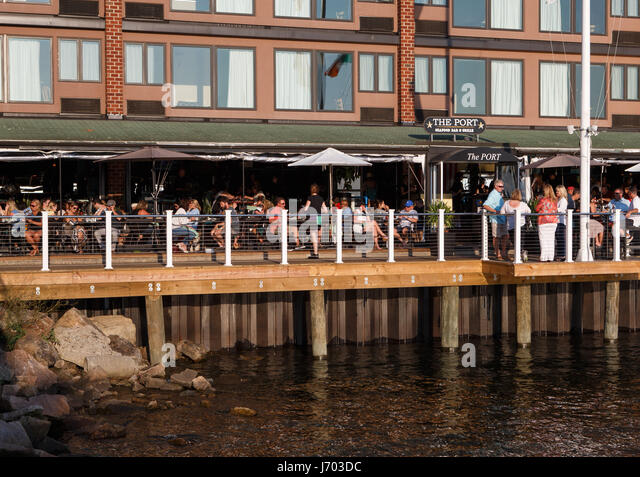 Waterfront seafood restaurant stock photos waterfront for Ankers fish fry