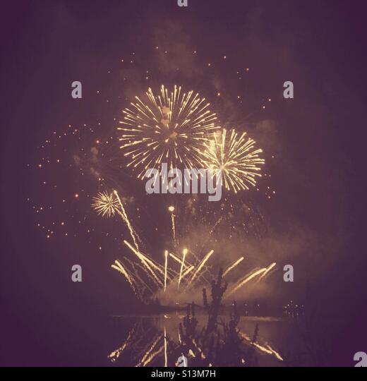 Fireworks. - Stock Image