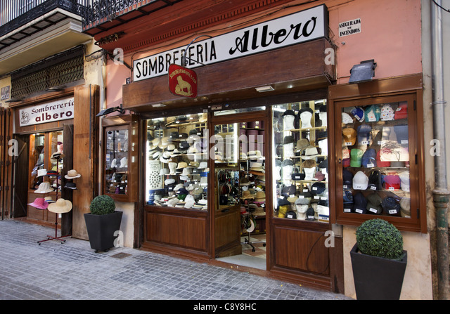 Sombrereria Albero, Valencia, Spain - Stock-Bilder