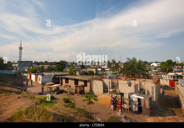 Limete Commune, Kinshasa, Democratic Republic of Congo, Africa - Stock-Bilder