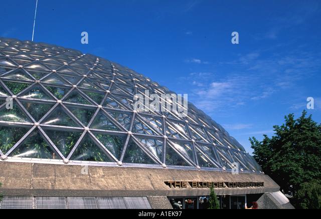 VANCOUVER Canada Bloedel Conservatory Queen Elizabeth Park - Stock Image