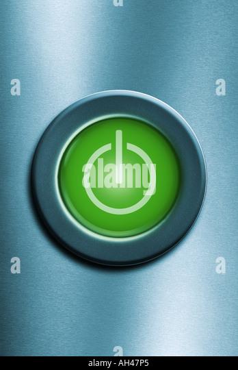 power switch knob button Power Taste - Stock-Bilder