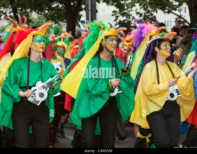 Carnival of Cultures, Berlin 2011 - Stock-Bilder