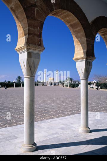 Bourguiba Mausoleum, Monastir, Tunisia - Stock Image