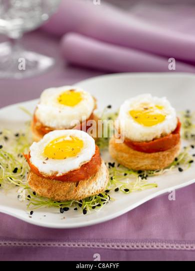 Majorcan stock photos majorcan stock images alamy for Quail egg canape