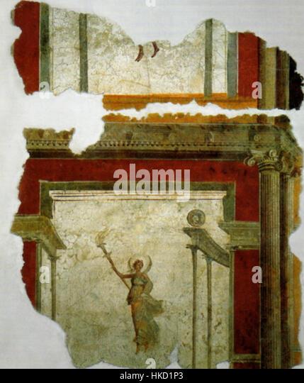 Fresco Rom Piazza Sonnino - Stock Image
