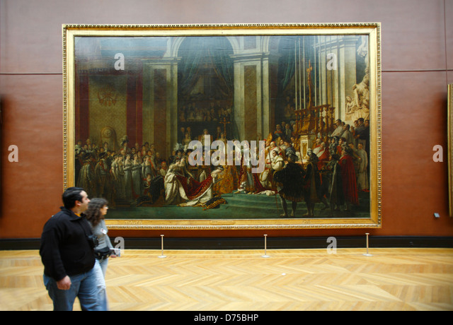 analysis of the coronation of napoleon In jacques-louis david's napoleon bonaparte, first consul, crossing the alps at great st bernard pass, 20 may 1800 of 1803,.