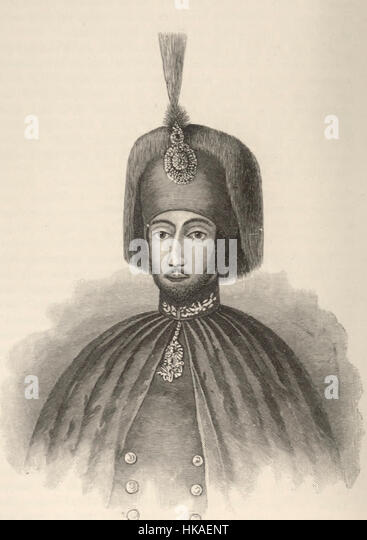 Sultan Abdul Medjid, circa 1850 - Stock-Bilder