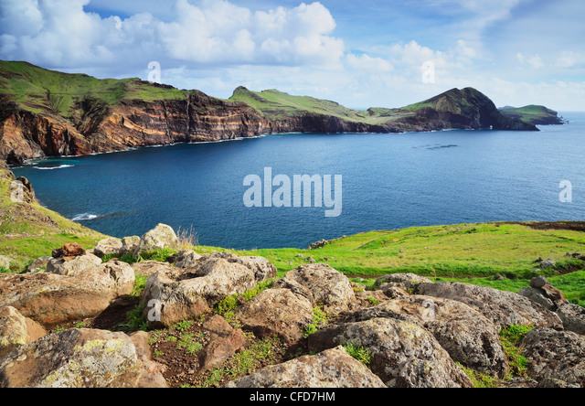 Baia d'Abra, Madeira, Portugal, Atlantic Ocean, Europe - Stock Image