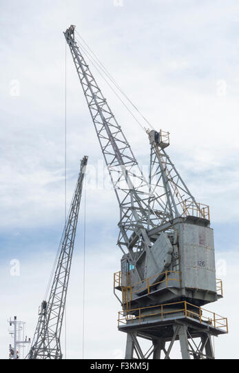 Robinson Dry Dock and Synchrolift, V&A Waterfront, Cape Town, South Africa - Stock Image