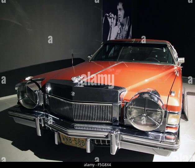 Elvis Presley Cadillac Stock Photos & Elvis Presley