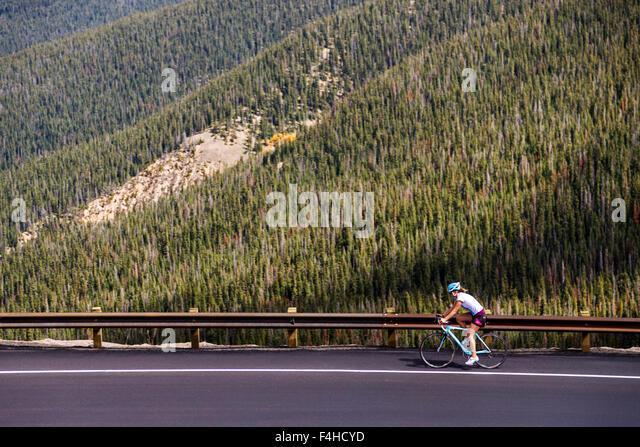 Bicycle Touring Berthoud Pass Colorado