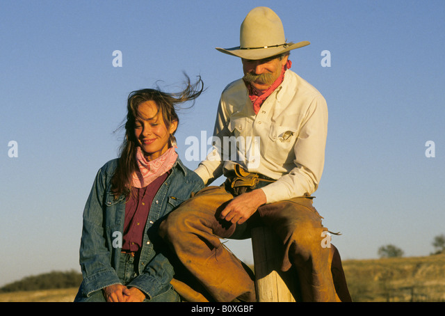 Cowboy Sitting On Fence Stock Photos Amp Cowboy Sitting On