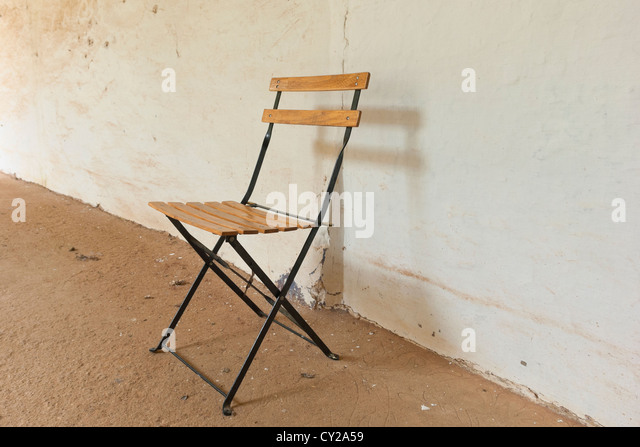 Folding Chair Metal Stock Photos Folding Chair Metal Stock Images Alamy
