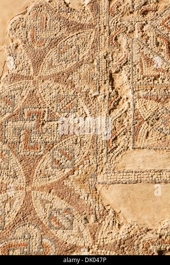 Roman mosaic, Kourion, Cyprus - Stock Image