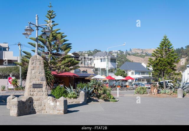 Foreshore at Sumner Beach, Esplanade, Sumner, Christchurch, Canterbury Region, South Island, New Zealand - Stock Image