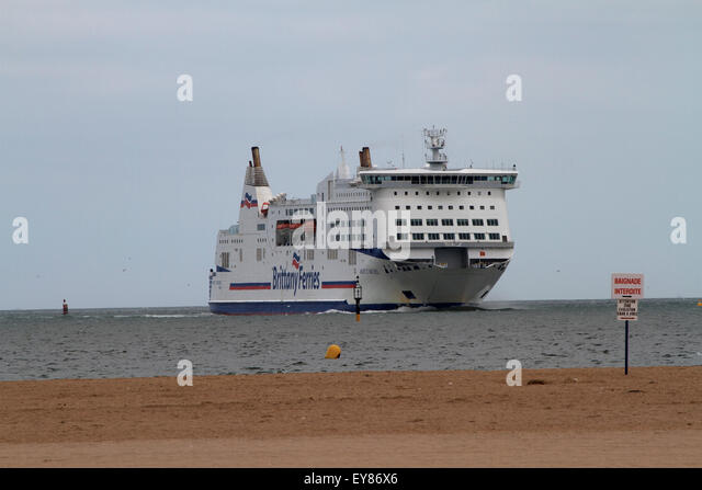 brittany ferries france stock photos brittany ferries france stock images alamy. Black Bedroom Furniture Sets. Home Design Ideas