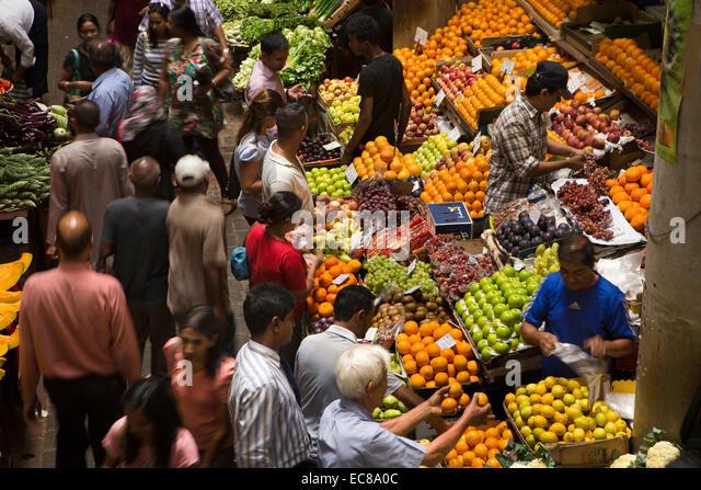 Mauritius market stock photos mauritius market stock images alamy - Mauritius market port louis ...