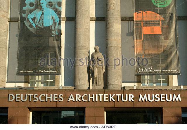 Deutsches architektur museum stock photos deutsches for Frankfurt architekturmuseum